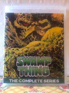 Swamp Thing 1990 The Complete Series 3 Seasons with 72 Episodes on 5 Blu-ray Discs in 720p HD