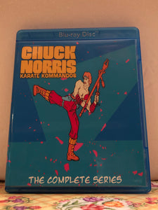 Chuck Norris Karate Kommandos The Complete Series 5 Episode Set on Blu-ray in 1080p HD