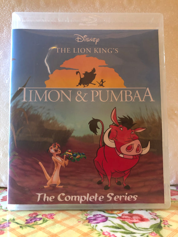 Timon & Pumbaa The Complete Series 3 Seasons with 85 (131 Segments) on 5 Blu-ray Discs in 720p HD