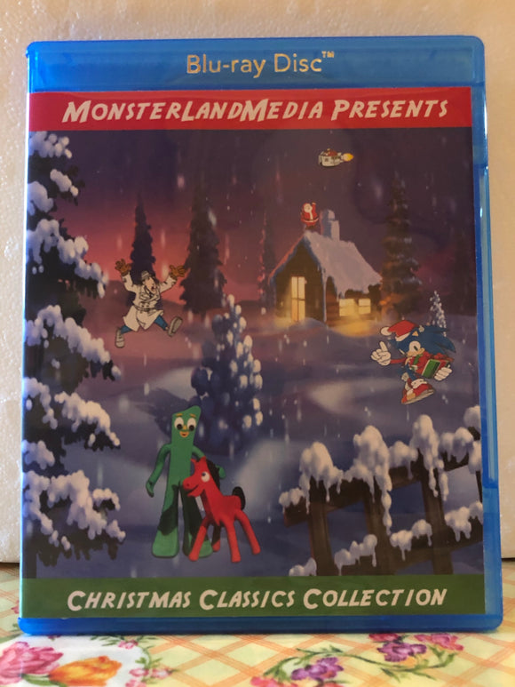 Christmas Classics Collection 14 Christmas Specials on 2 Blu-ray Discs in 1080p HD