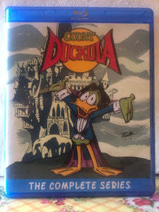 Count Duckula The Complete Series 4 Seasons with 65 Episodes on 3 Blu-ray Discs
