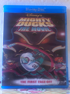 Disney's Mighty Ducks The Movie The First Face-Off Blu-ray DVD Combo