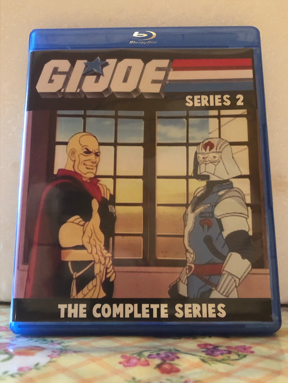 GI Joe Series 2 The Complete Series 2 Seasons with 44 Episodes and the Mini-Series on 3 Blu-ray Discs in 720p HD