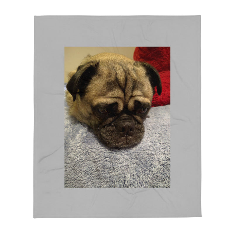 Happy Paws Co Personalized Photo Throw Blanket