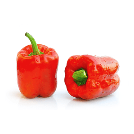 Red bell peppers - RuruKitchen