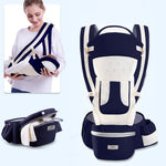 ERGONOMIC CARRIER OF 0-48 MONTHS WITH FRONT SEAT WITH KANGE FRONT. WLING SLING FOR TRAVELS WITH BABIES