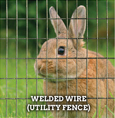 Welded Wire (Utility Fence)