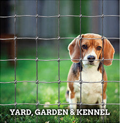 Yard, Garden & Kennel Fence