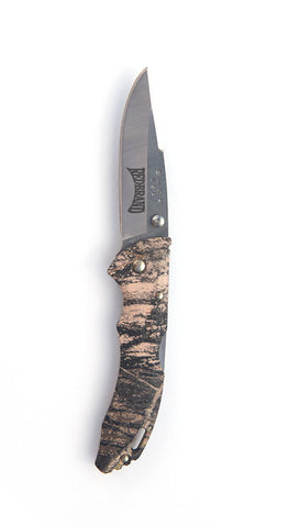 Camouflage Buck Knife