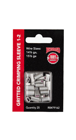 Crimp Sleeve 1-2# - 25 count