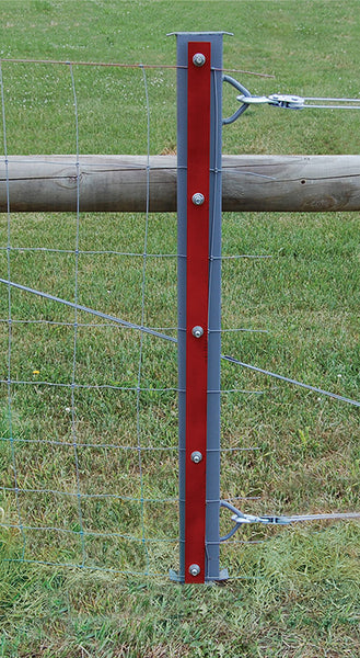 Red brand in fence stretcher bar fencing tool