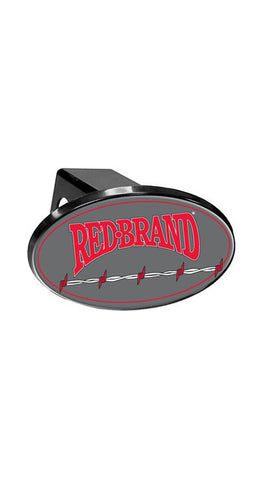 Red Brand Hitch Cover