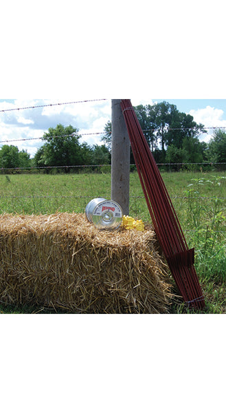 Round Electric Fence Post - 48-in