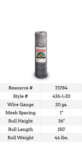 Keyline Poultry Netting 150-ft. #436-1-20