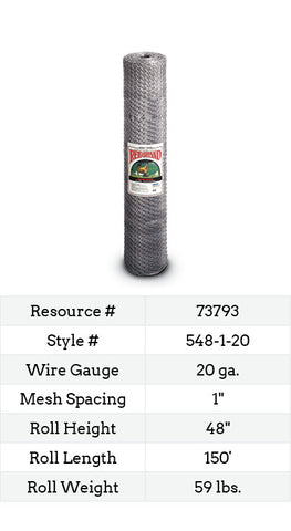 Keyline Poultry Netting 150-ft. #548-1-20