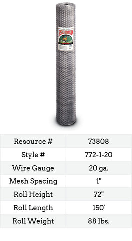 Keyline Poultry Netting 150-ft. #772-1-20