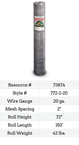 Keyline Poultry Netting 150-ft. #772-2-20