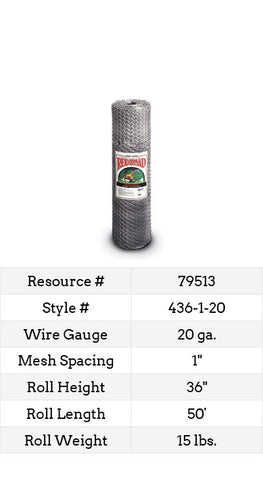 Keyline Poultry Netting 50-ft. #436-1-20