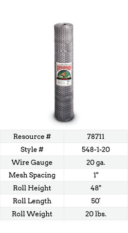 Keyline Poultry Netting 50-ft. #548-1-20