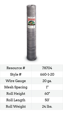 Keyline Poultry Netting 50-ft. #660-1-20