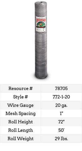 Keyline Poultry Netting 50-ft. #772-1-20