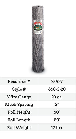 Keyline Poultry Netting 50-ft. #660-2-20