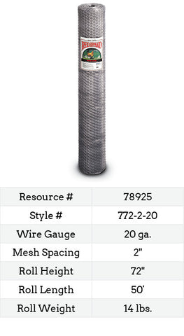 Keyline Poultry Netting 50-ft. #772-2-20