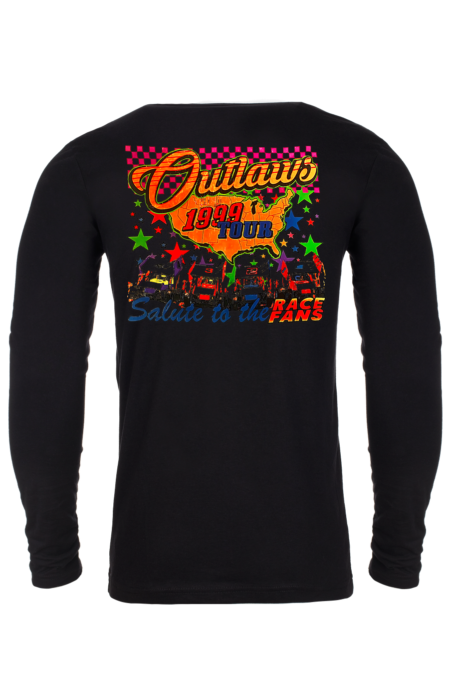 WILBUR OUTLAWS LONG SLEEVE - BLACK