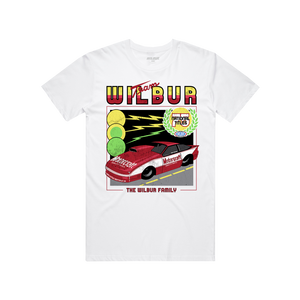 TEAM WILBUR RACING T-SHIRT - WHITE