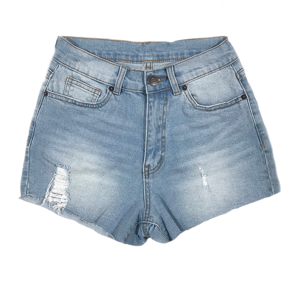 WILBUR DENIM SHORTS - WOMEN'S