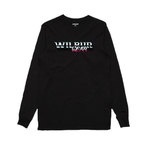 WILBUR VINTAGE LOGO LONG SLEEVE - BLACK