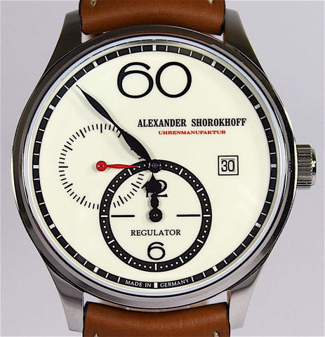 Alexander Shorokhoff Alexander Shorokhoff Avantgarde Regulator Watch R01-2
