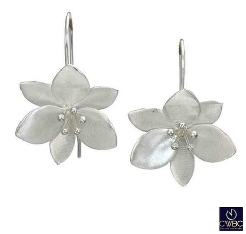 Christin Ranger Jewellery & Watches:Fine Jewellery:Fine Earrings:Other Earrings Christin Ranger Sterling Silver Orange Blossom Dangle Earrings