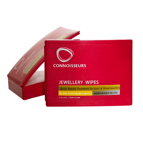 Connoisseurs Connoisseurs Jewellery Wipes Silver Gold Cleaner