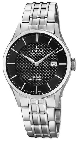 Festina Wristwatch Festina Swiss Made Sapphire Glass Watch F20005/4