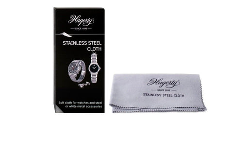 Hagerty Hagerty Stainless Steel Watch Polishing Cleansing Cleaning Cloth