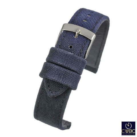 LBS Jewellery & Watches:Watches, Parts & Accessories:Wristwatch Straps 18 LBS Premium Range Fabric Watch Strap