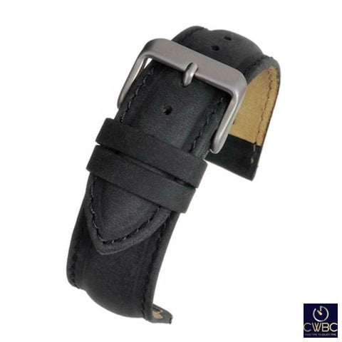 LBS Jewellery & Watches:Watches, Parts & Accessories:Wristwatch Straps Black / 16 LBS Premium Watch Strap 3 Colours and Sizes Available
