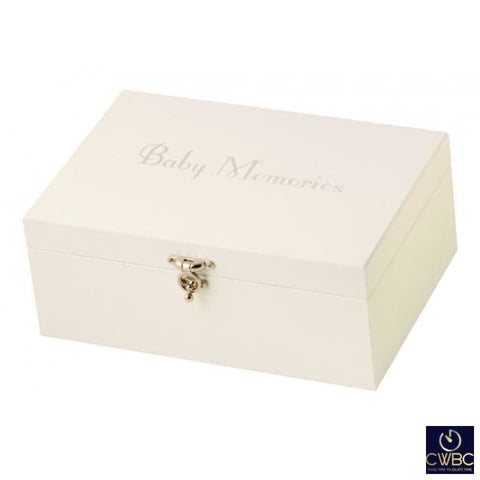 Mele & Co Jewellery & Watches:Jewellery Boxes & Supplies:Jewellery Boxes Mele & Co Cream Unisex Baby Toddler Memory Storage Box