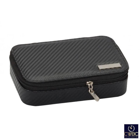 Mele & Co Jewellery & Watches:Watches, Parts & Accessories:Boxes, Cases & Watch Winders Mele & Co Carbon Collection Mark Cufflink and Watch Storage Box