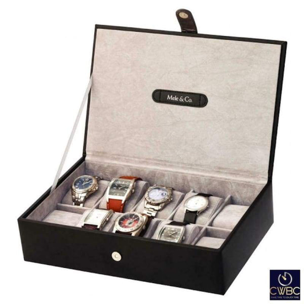 Mele & Co Jewellery & Watches:Watches, Parts & Accessories:Boxes, Cases & Watch Winders Mele & Co Jenson 10 Watch Box