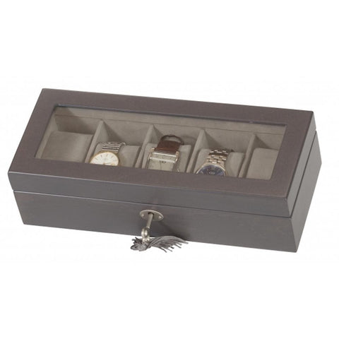 Mele & Co Mele & Co Jordan 5 Watch Wooden Storage Box