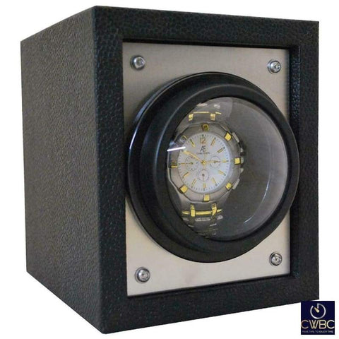 Orbita Jewellery & Watches:Watches, Parts & Accessories:Boxes, Cases & Watch Winders Orbita Piccolo Single Watch Winder - Silver