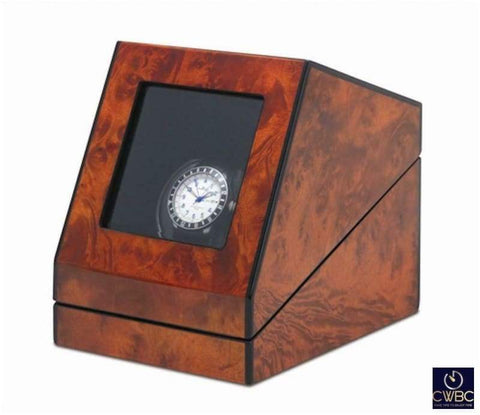 Orbita Jewellery & Watches:Watches, Parts & Accessories:Boxes, Cases & Watch Winders Orbita Siena Single Watch Winder - Burl