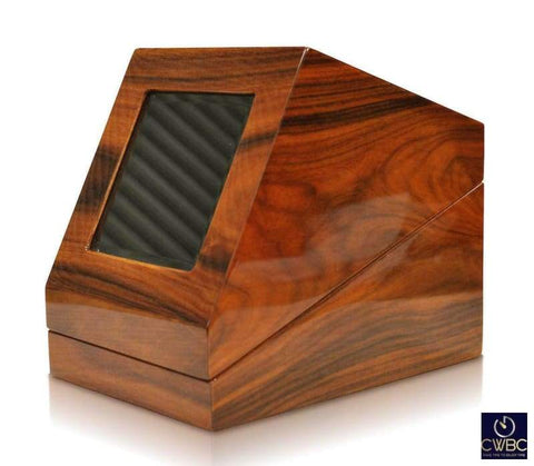 Orbita Jewellery & Watches:Watches, Parts & Accessories:Boxes, Cases & Watch Winders Orbita Siena Single Watch Winder - Teak