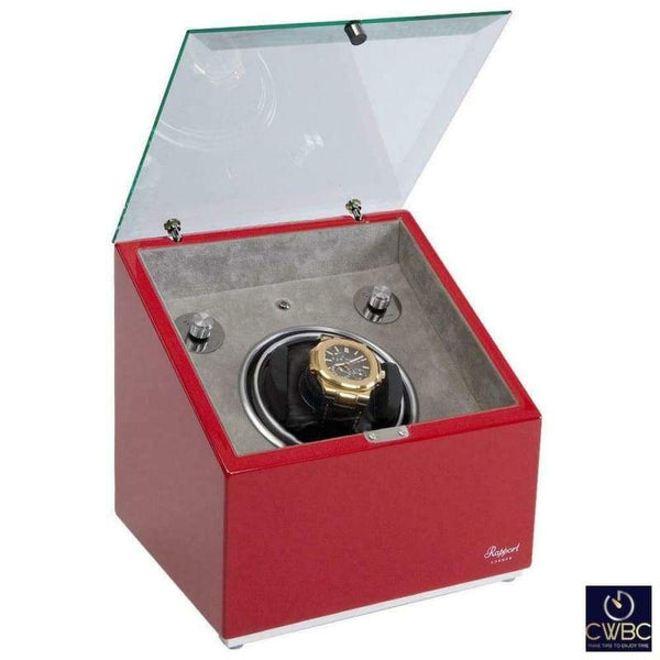 Rapport Jewellery & Watches:Watches, Parts & Accessories:Boxes, Cases & Watch Winders Rapport Astro Mono Watch Winder - Red