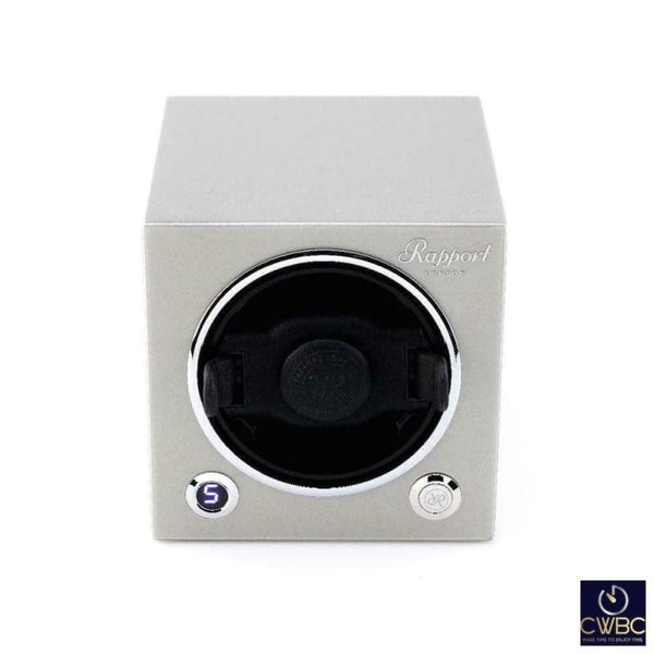 Rapport Jewellery & Watches:Watches, Parts & Accessories:Boxes, Cases & Watch Winders Rapport Evolution Single watch Winder MK2 in Silver