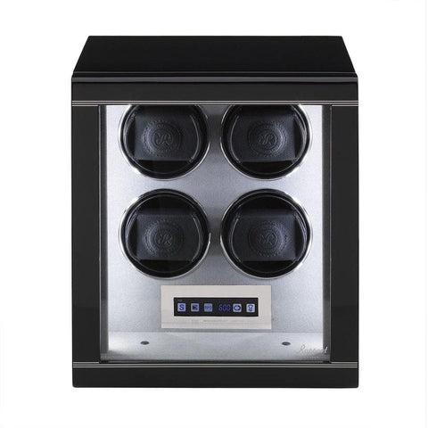 Rapport Rapport Formula Quad 4 Watch Winder in Gloss Black