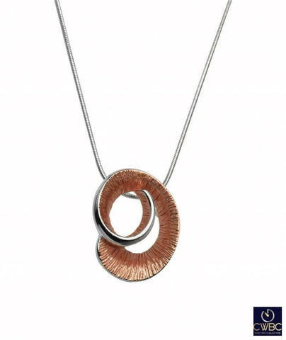 Unique & Co Jewellery & Watches:Fine Jewellery:Fine Necklaces & Pendants:Other Necklaces & Pendants Unique & Co Rose Gold Curl Pendant Necklace