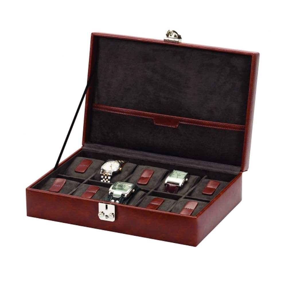 Watch Storage box for 10 watches by Mele & Co. Raffles range Blake